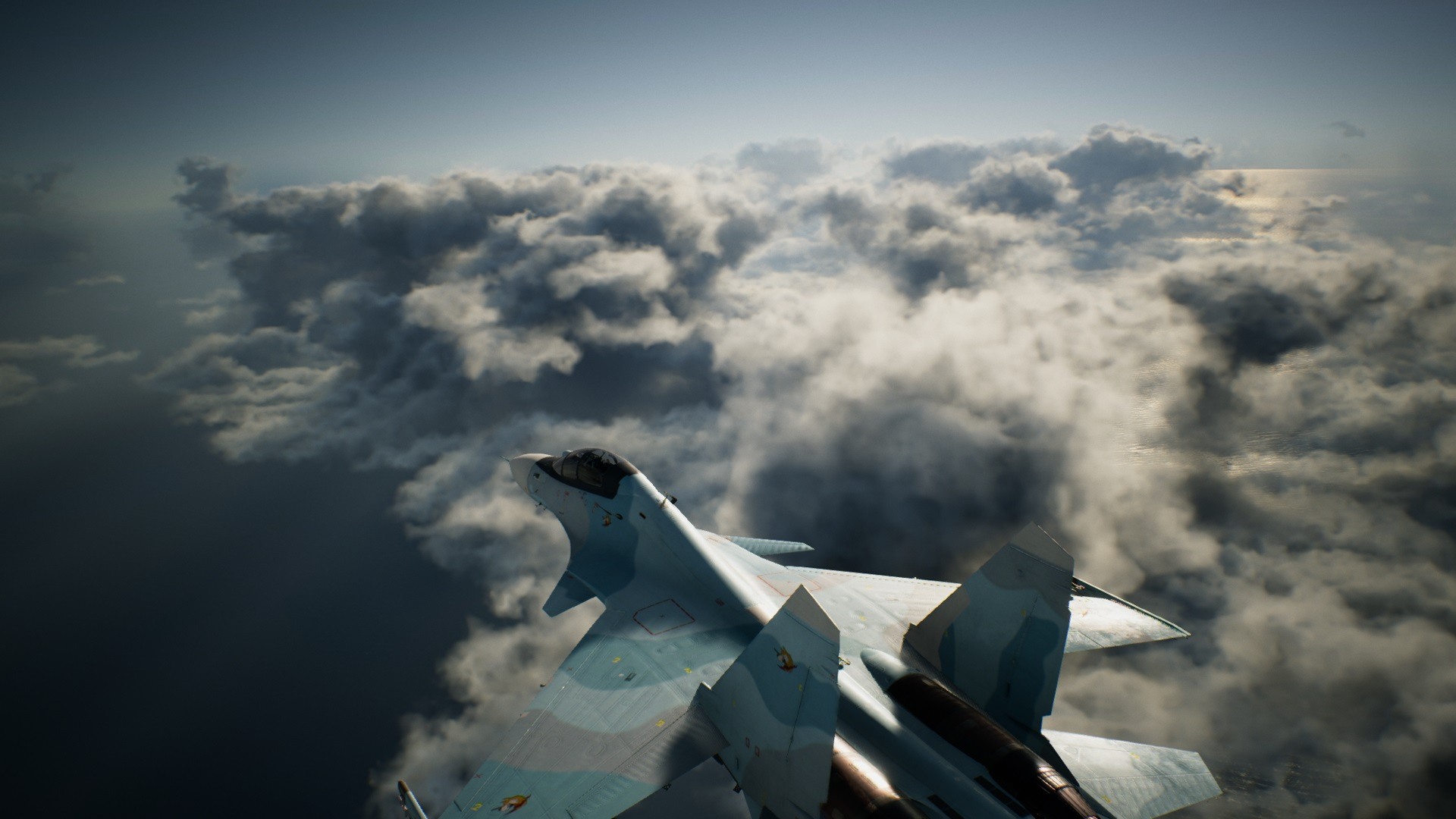 Volumetric clouds in Ace Combat 7: Skies Unknown