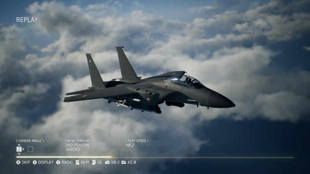 F-15E in Ace Combat 7
