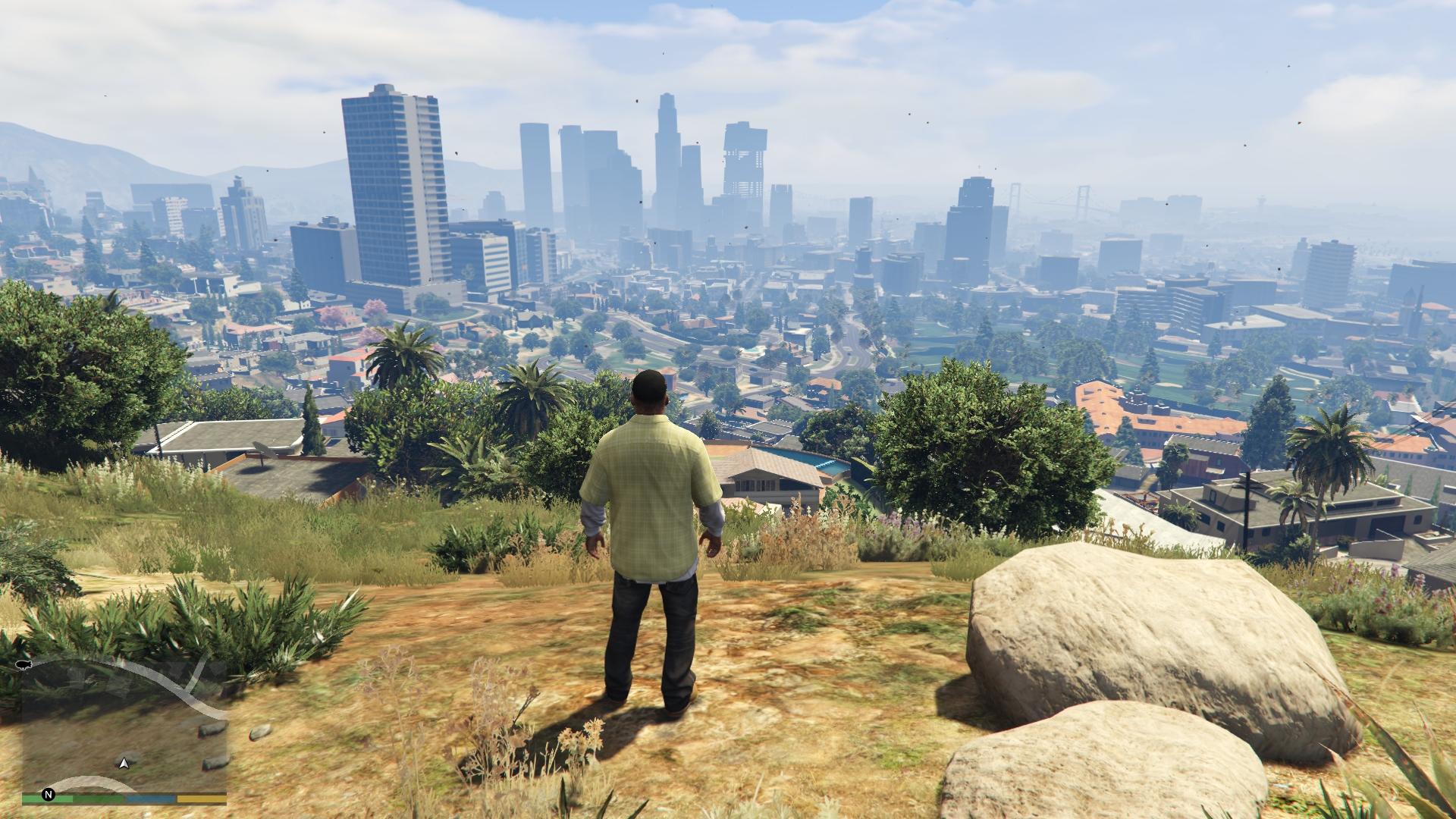 City of Los Santos in Grand Theft Auto V