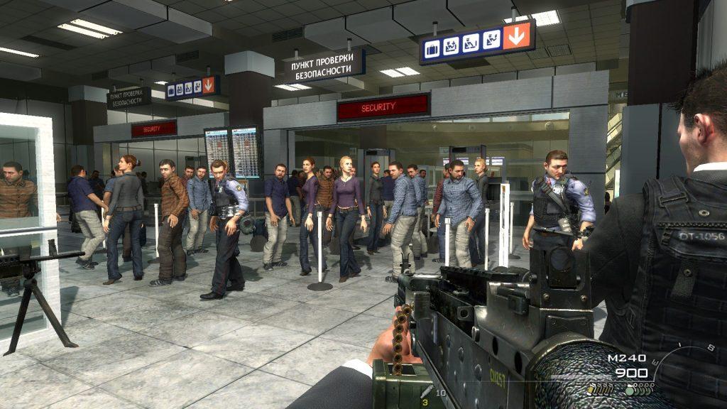 Call of Duty Modern Warfare 2 no russian mission